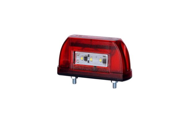 nummerplaatverlichting, led, led nummerbordverlichting, rood