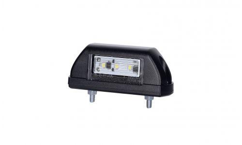 led nummerbordverlichting zwart met 2,6 meter kabel
