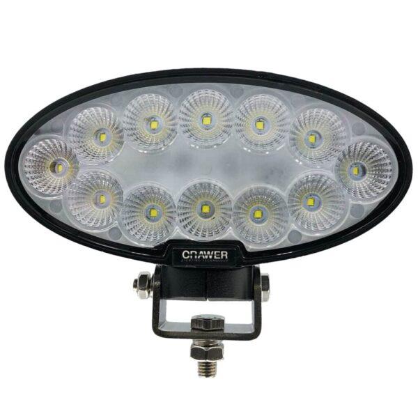 CRAWER werklamp ovaal 60watt CREE